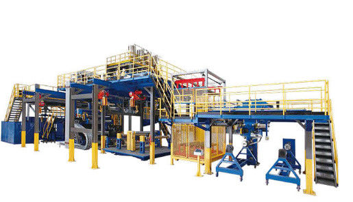 Waterproof Membrane Pp Hollow Sheet Extrusion Line Solid Roll 2200mm Wide